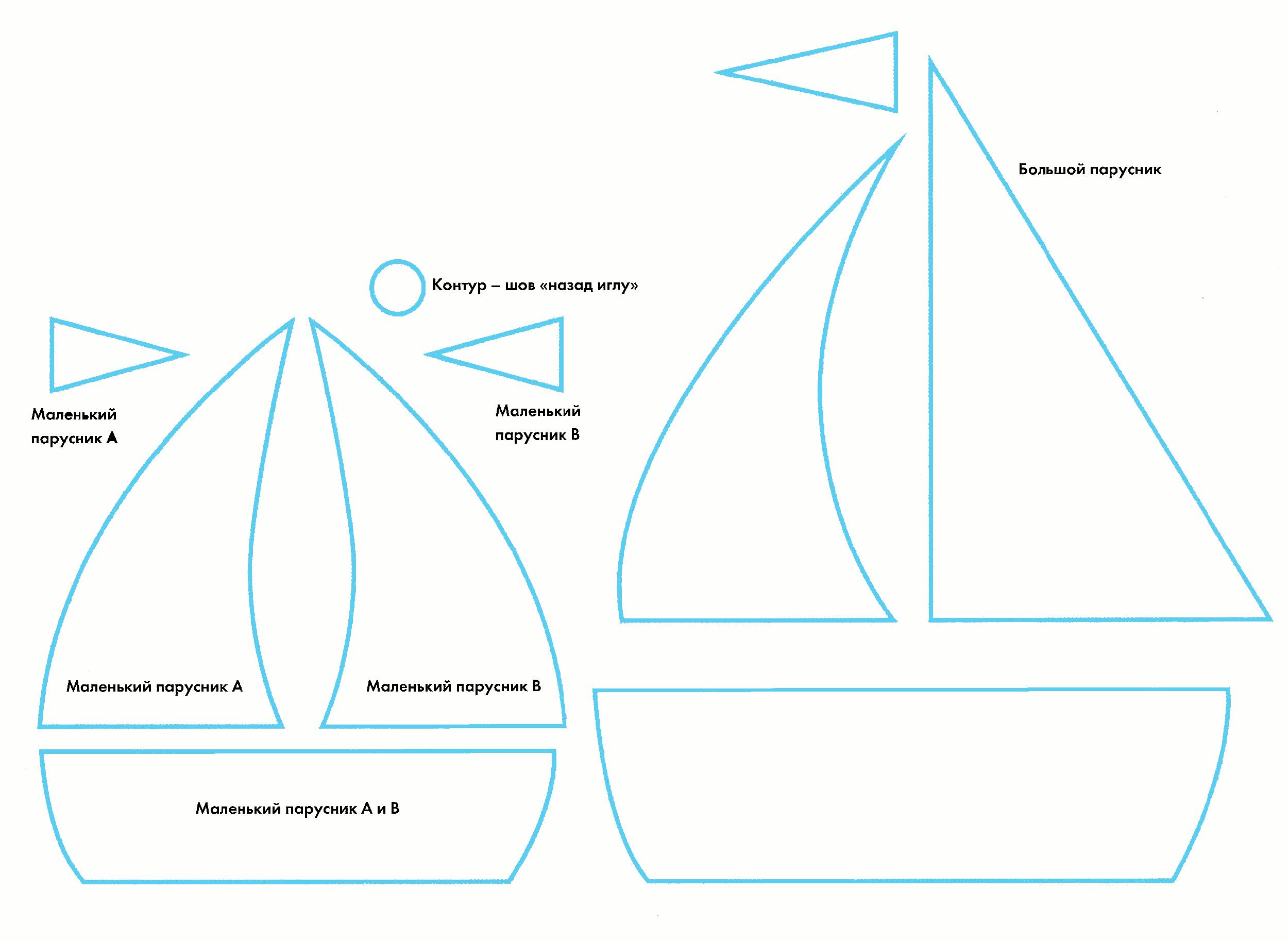 Открытки яхты своими руками