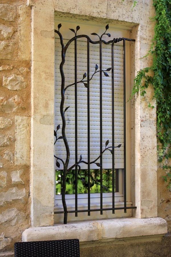 Burglar Bars For Windows Security Bars Artistic Design Wrought Iron Bars Casa Pinterest