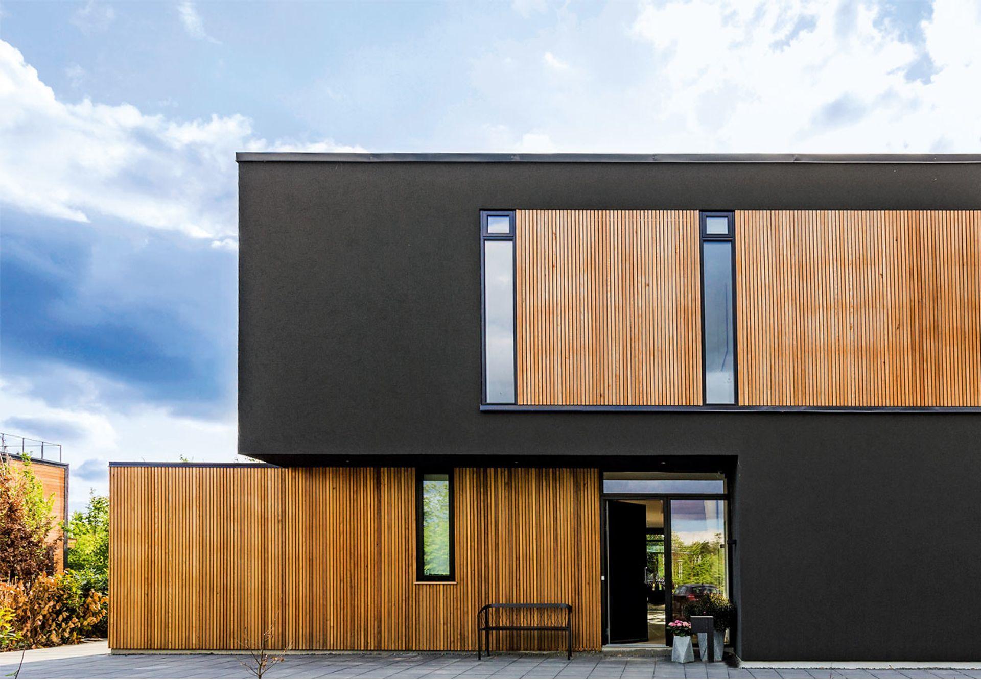 Arkitekttegnet villa i Glostrup   Architecture   Pinterest   Architecture, Modern house design ...