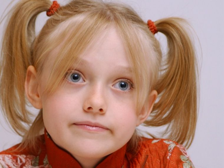 Easy Friseur für das Mädchen: binden Sie die Haare und das ...