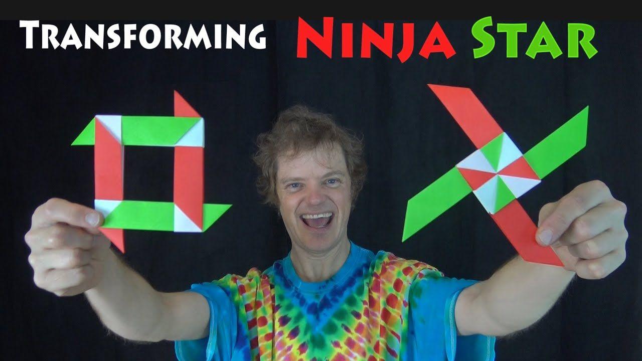 Four Pointed Transforming Ninja Star Boomerang YouTube