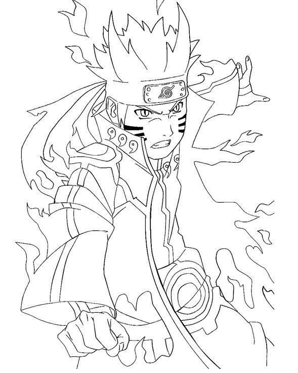 Naruto Coloring Pages Dibujos Dibujos De Anime Naruto Dibujos