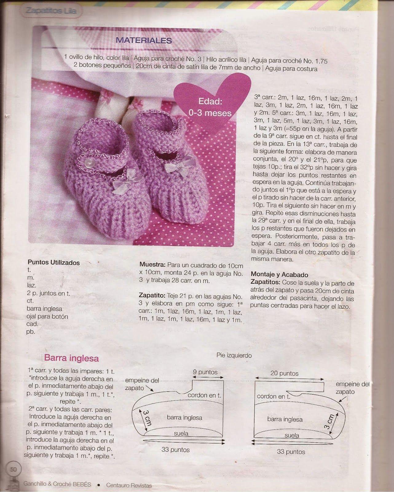 Revistas de crochet y tejidos gratis: patrones crochet para bebes ...