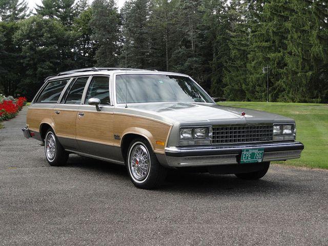 1983 Chevrolet Malibu Cl Estate Wagon Chevrolet Malibu Classic