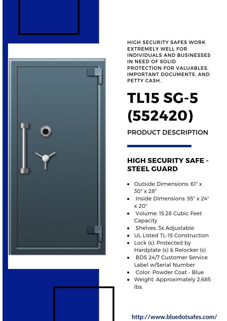 High Security Safe Sg 15 5 Security Safe Security Safes Security