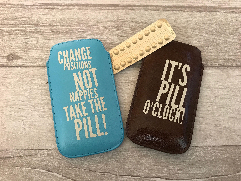 We/'ve Got Chemistry Pill Case Birth Control Sleeve
