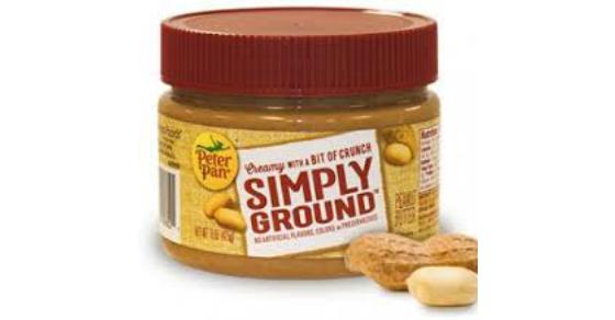 Walmart Peter Pan Simply Ground Peanut Butter Just 1 32