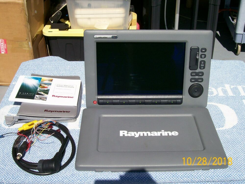 eBay #Sponsored Raymarine C-120 Wide MFD with suncover