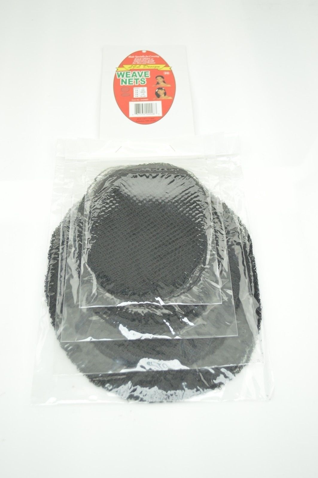 Weave Nets 4 Different Sizes Of Black Stretchable Elastic Mesh Hair Net Wig Cap