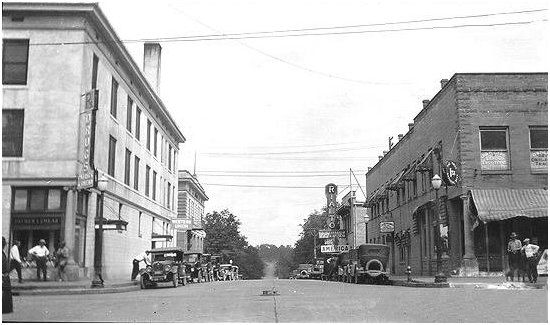 East Camden Arkansas Looking North Northeast Streets Labeled Pinterest