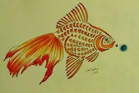 Resultado de imagem para golden fish tattoo