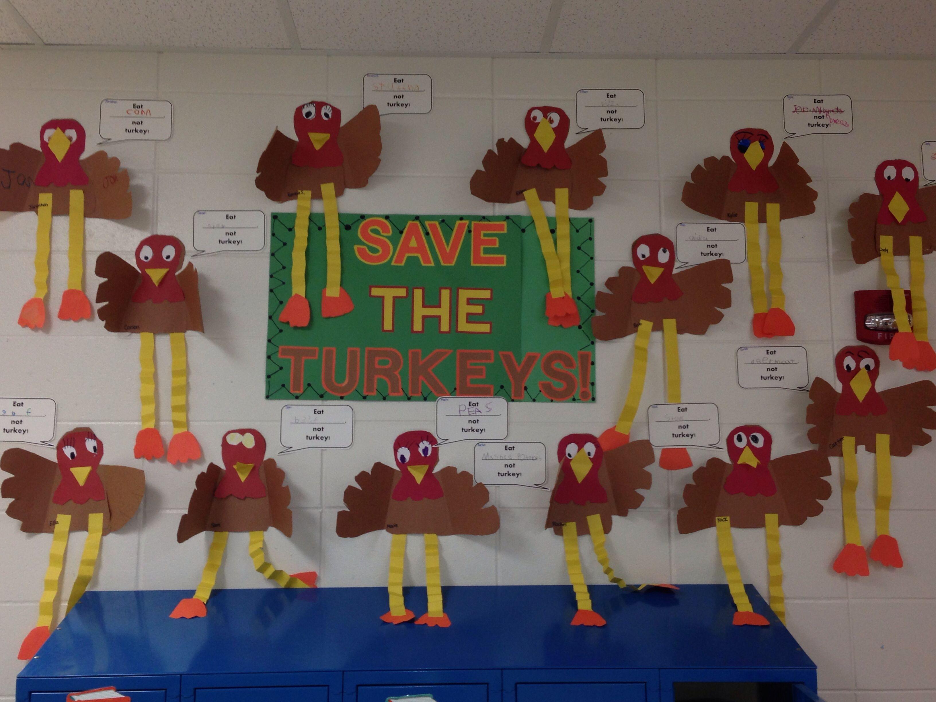 Thanksgiving Classroom Decoration : Thanksgiving turkey bulletin board boards
