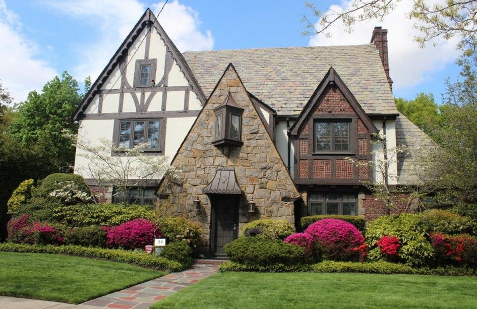 French Tudor Style Homes House Design Ideas Surprising