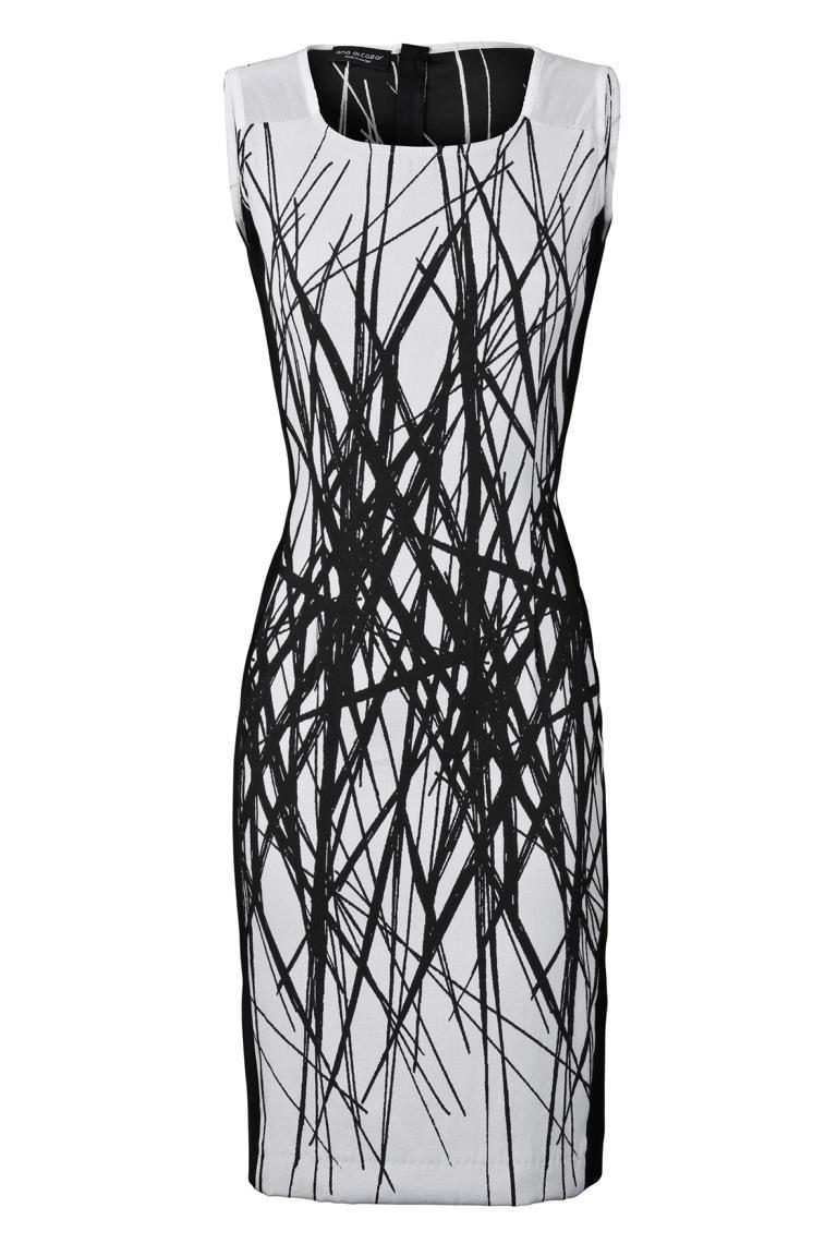 Etuikleid Venorylis in Weiß und Schwarz | Clothes | Pinterest ...