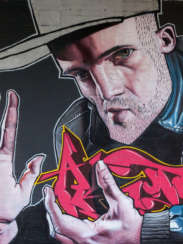 Artist Case : ( (Maclain) New Mural....Détail