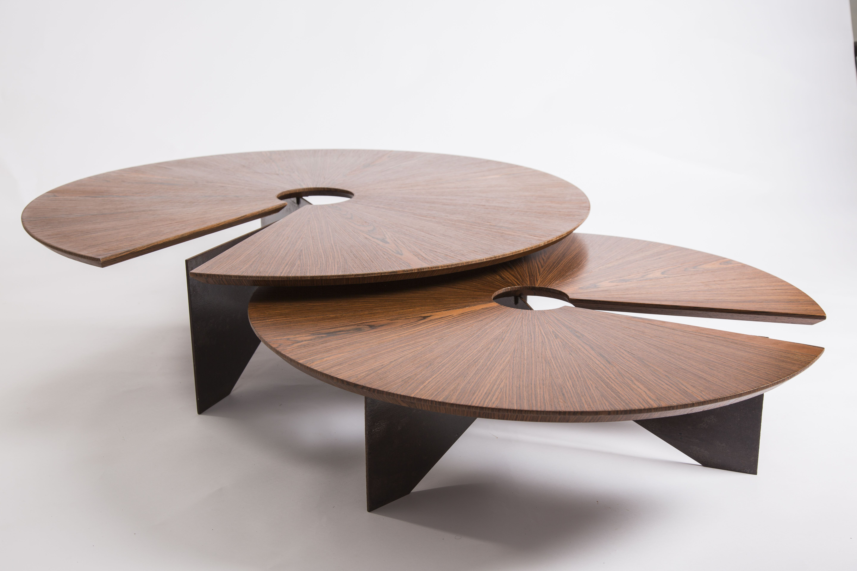 Decarvalho Atelier Bossa Coffee Table Round Coffee Table Round Wood Coffee Table [ 3840 x 5760 Pixel ]