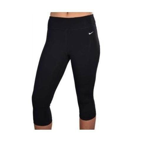 f35c873c1e Nike Womens Tight Fit Training Yoga Black Training Capri Pants ...