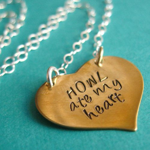 A quote from Howl's Moving Castle i want to buy this!!!