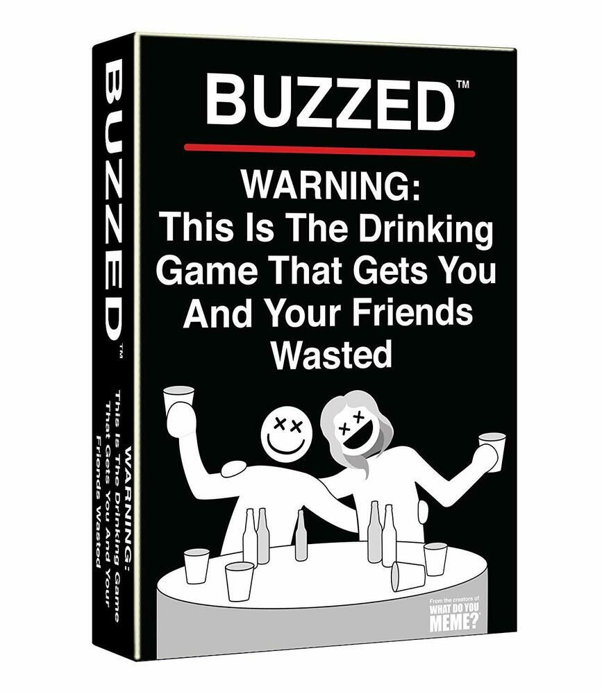 Buzzed this is the drinking game that gets you and your