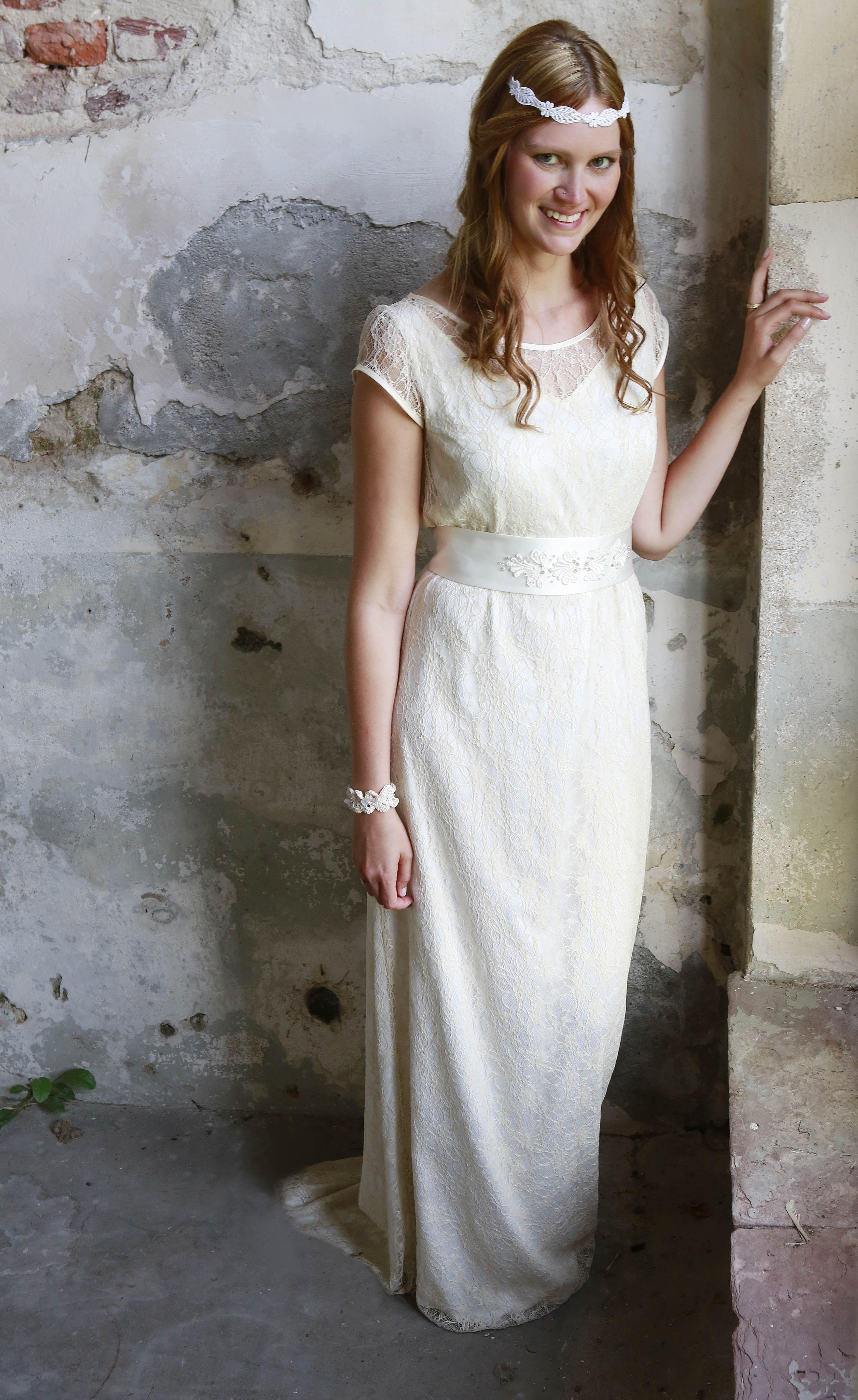 Labude Bräute - Real Brides Brautkleid Grace Vintage Stil | Labude ...