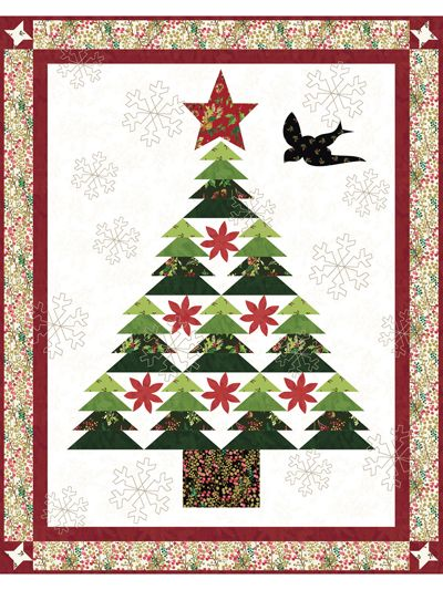 EXCLUSIVELY ANNIE'S QUILT DESIGNS Dear Santa Kitchen Set Pattern is part of Christmas tree quilt, Holiday quilts, Quilt sewing patterns, Christmas quilts, Christmas quilt patterns, Country quilts - 2