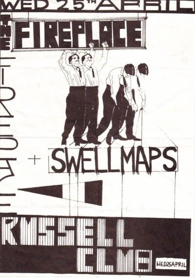 Flyer for 1979 show in Manchester