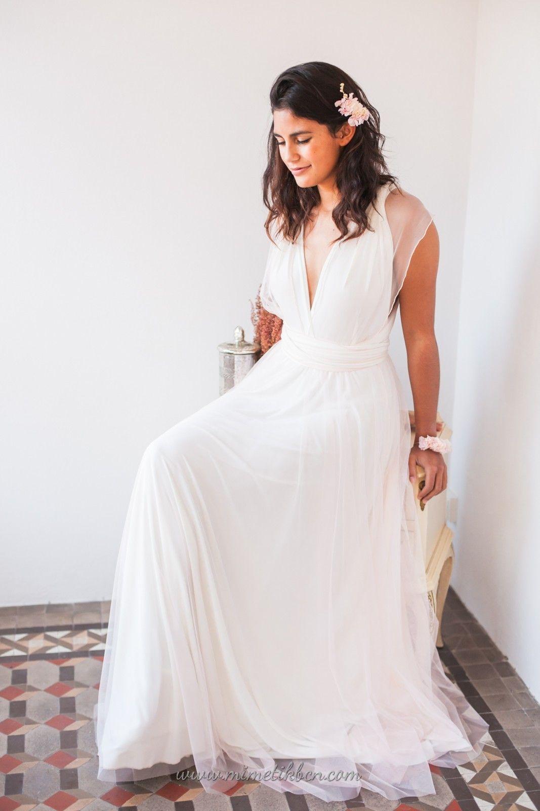 Vestidos de novia last minute boho u rustic wedding dress