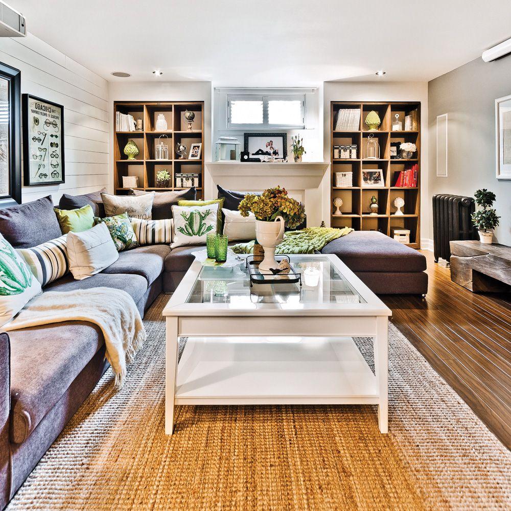 r union champ tre au sous sol salons pinterest sous sols champetre et r unions. Black Bedroom Furniture Sets. Home Design Ideas