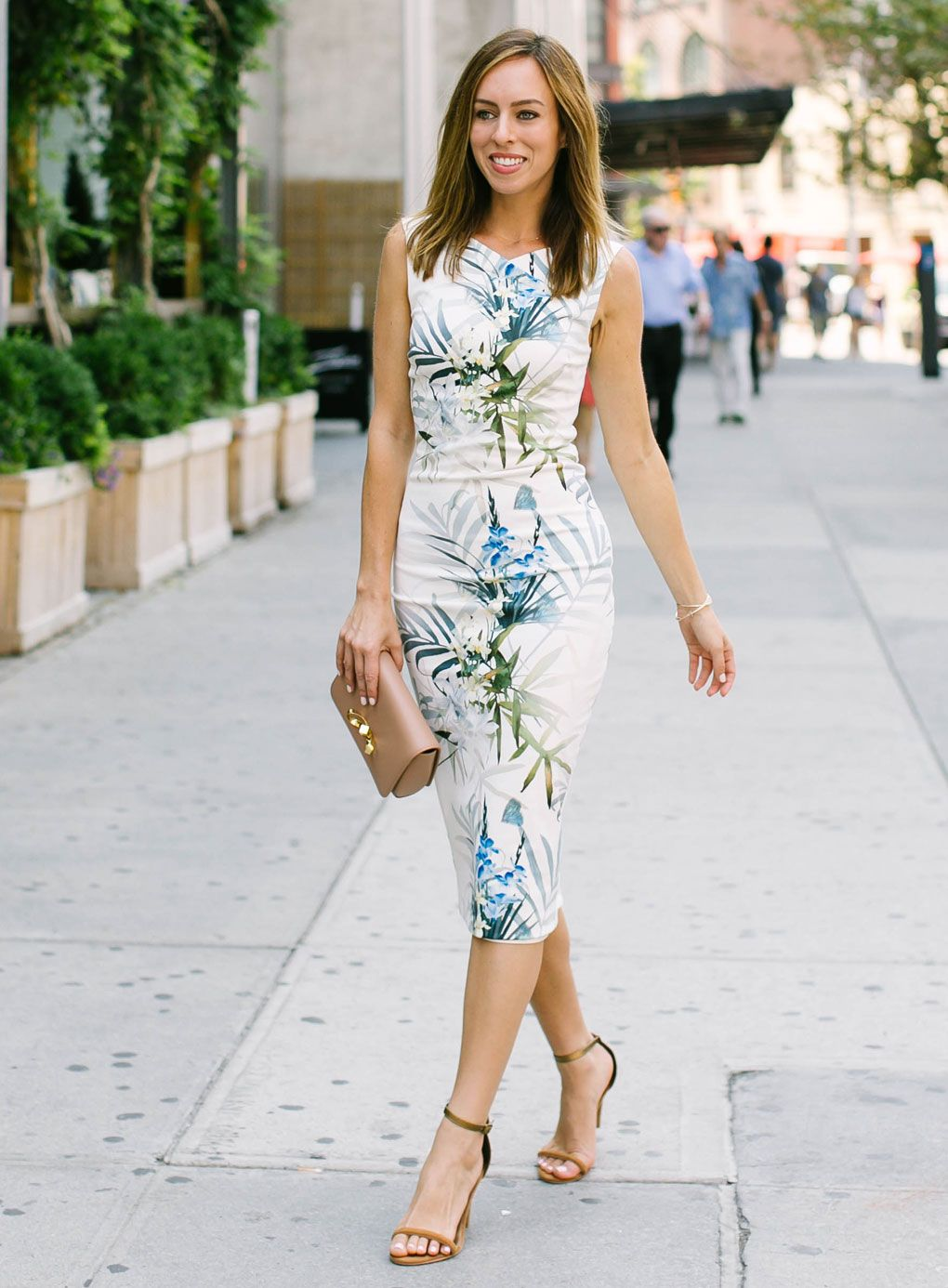 what to wear to a bridal shower brunch ted baker fall florals