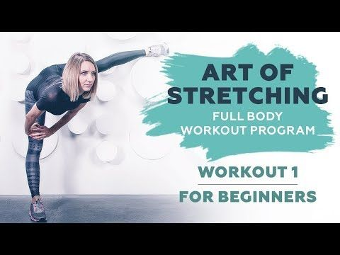 stretching workout 1 for beginners  art of stretching