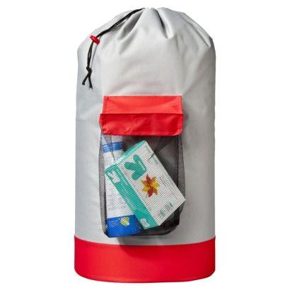Room Essentials Backpack Hamper Red