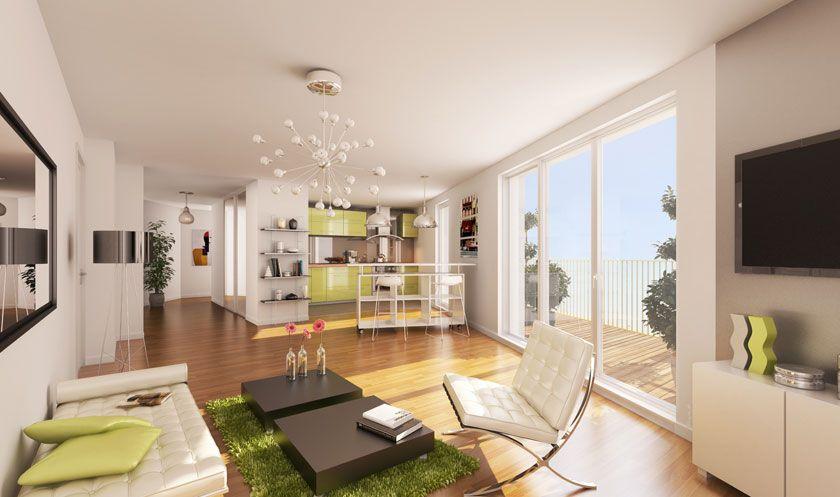 Home paris 75 interieur deco for Immobilier design paris
