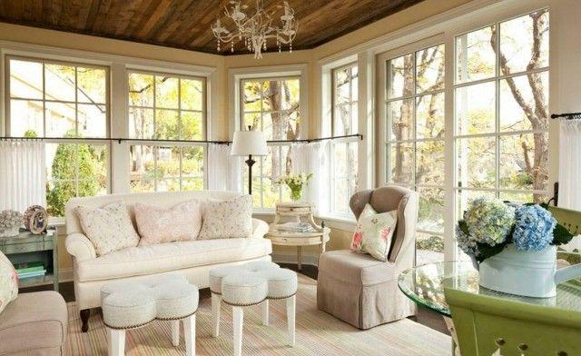 Shabby Chic Wohnzimmer Polstermöbel Sofa Zweisitzer HOME SWEET - shabby chic wohnzimmer