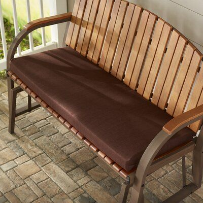 Beachcrest Home Indoor Outdoor Bench Cushion Bench Cushions