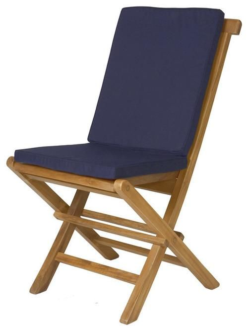 All Things Cedar Folding Chair Cushion In 2019 Best Of