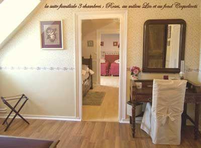 suite familiale des chambres d'hôtes à vendre proche de saint