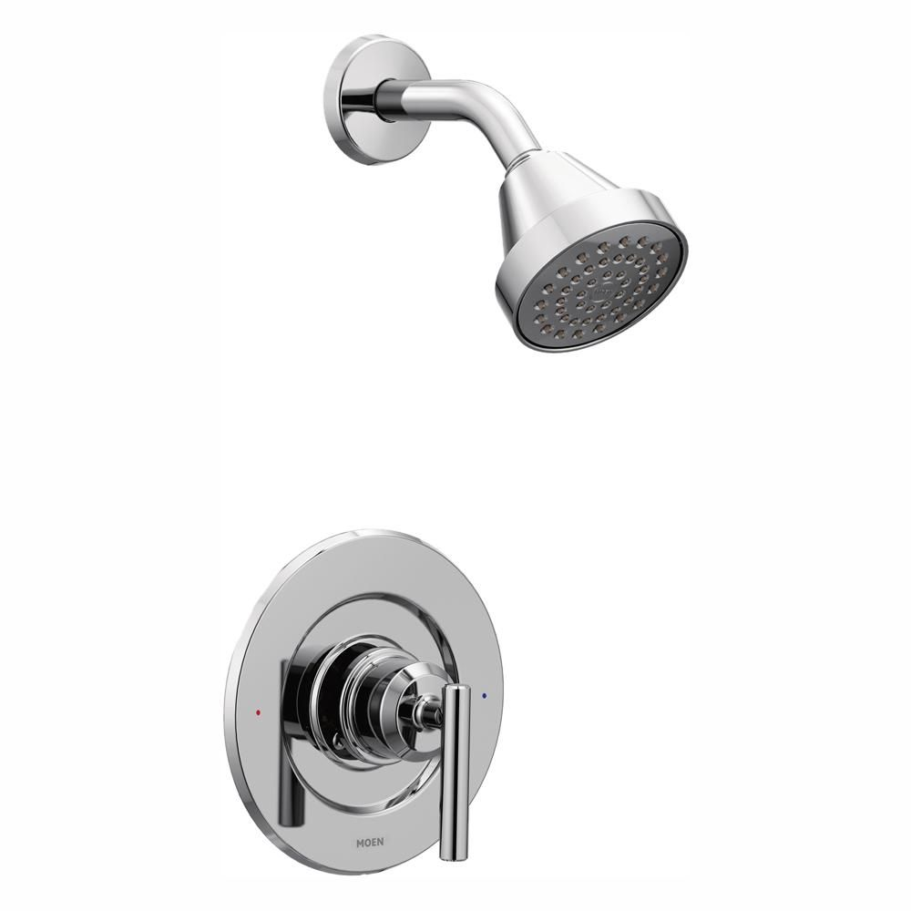 Moen Gibson 1 Handle Posi Temp Shower Only Faucet Trim Kit In