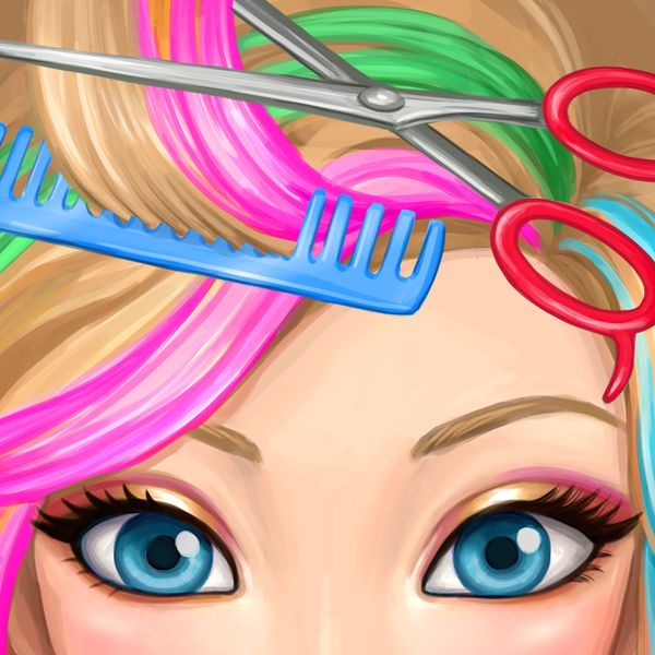 Download IPA / APK of Hair Salon Makeover  Cut Curl Color Style Hair for Free - http://ipapkfree.download/6098/