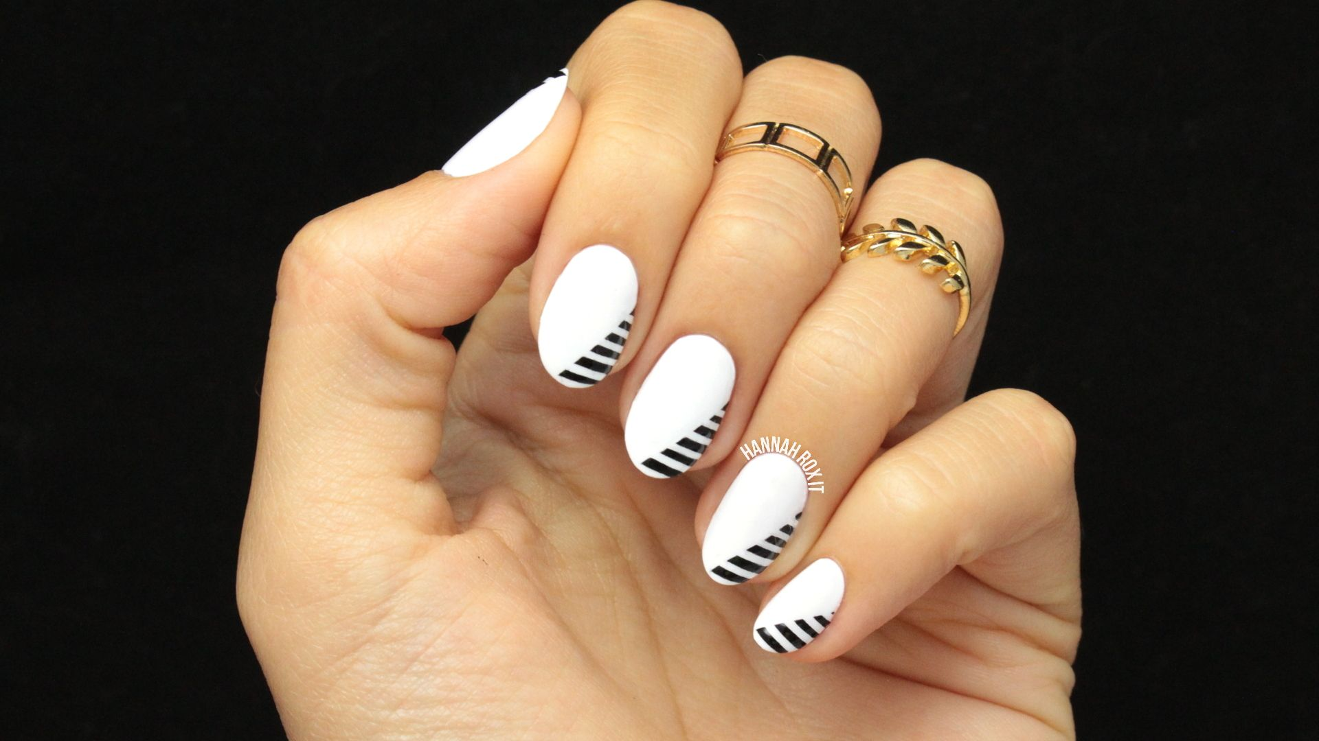 Awesome How To Nail Polish Designs Tiny What Nail Polish Works For Water Marble Clean Opi Gel Nail Polish Review Strawberry Nail Art Old Black Matte Nail Polish Chanel PinkGold Foil Nail Art Minimal, Monochrome And Nails On Pinterest