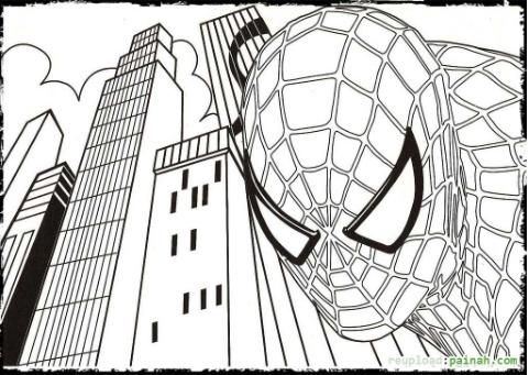 Spiderman Coloring Pages Spiderman, Marvel and Comic - best of coloring book pages marvel