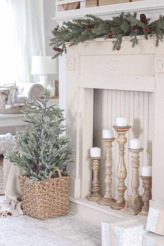 Photo of Simple Christmas-to-Winter Decorating Ideas – Follow The Yellow Brick Home