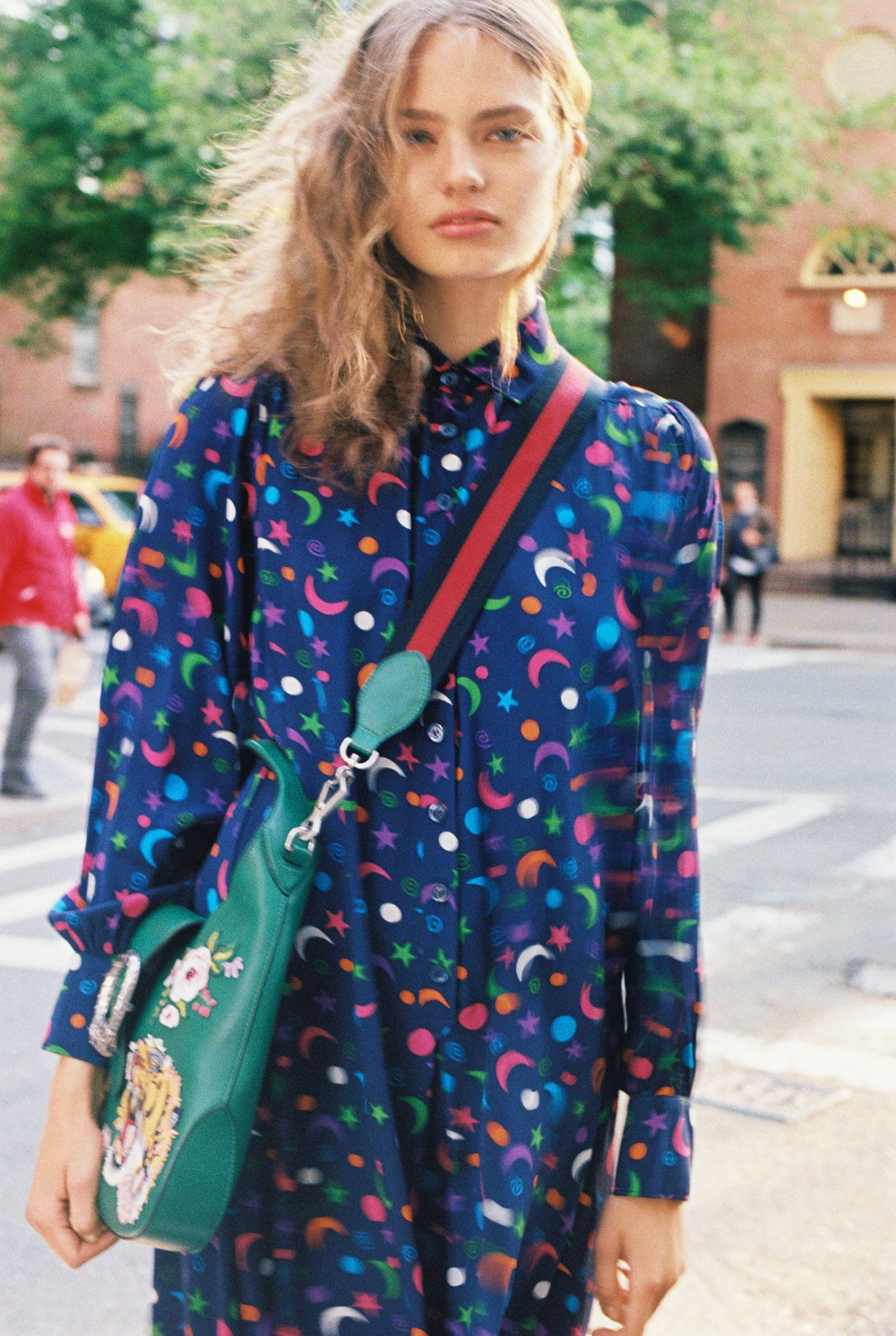 Street Style: 100 Ways to Wear Gucci | Hobo bags, Vintage dresses ...