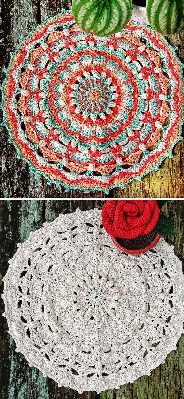 Pin on Decors Crochet Appliques