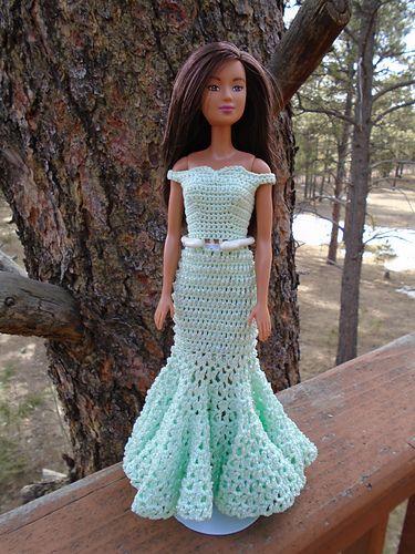 Miss Dorothy's Barbie Dress