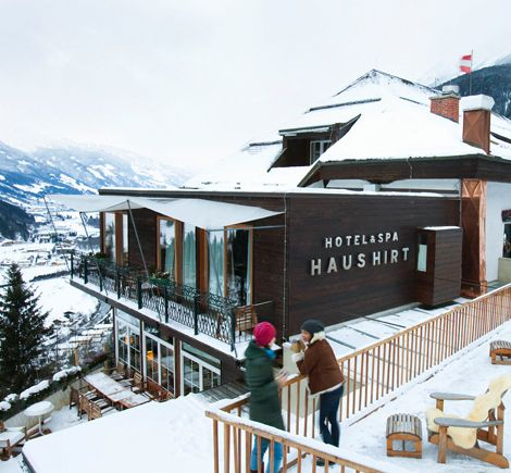 The House Haus Hirt Alpine Spas Haus Hotel Spa