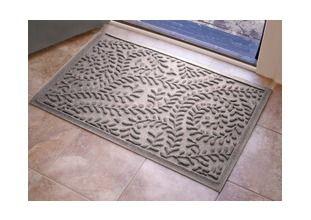 Grey Aqua Shield Boxwood Mat, 2x3