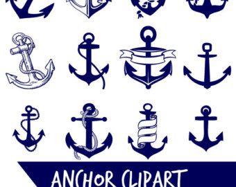 """anchor clip art """"sea anchor"""" nautical"""