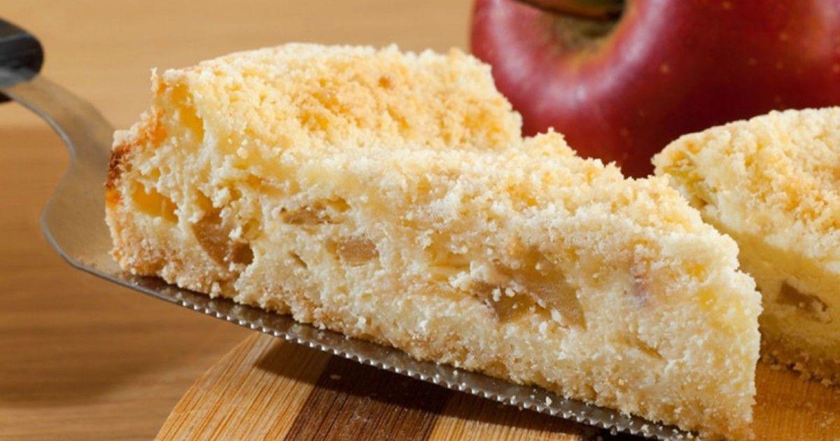 Королевская ватрушка с яблоками | Recipe (With images ...
