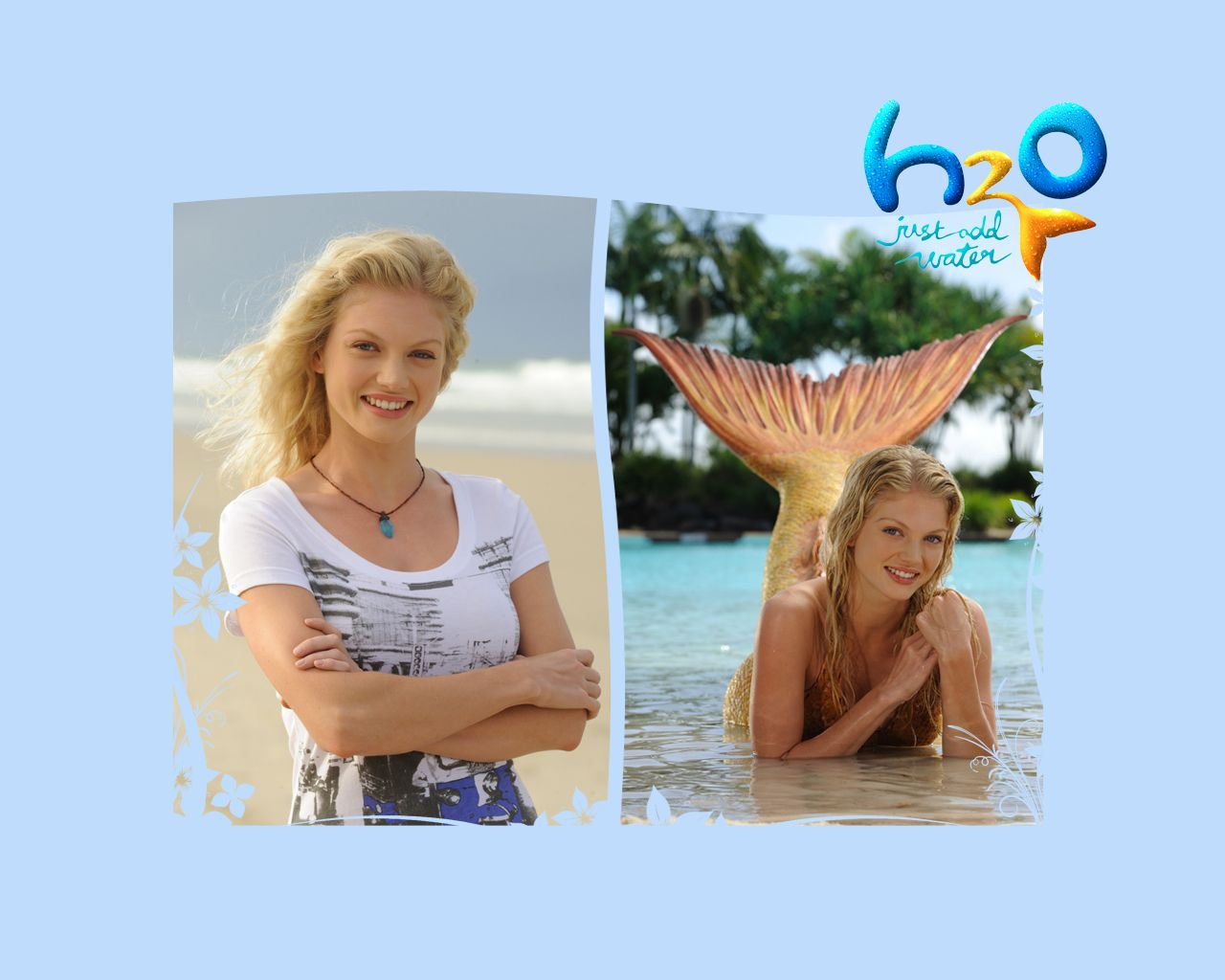 H2o Just Add Water Wallpaper H2o Rikki H2o Mermaids H2o Water