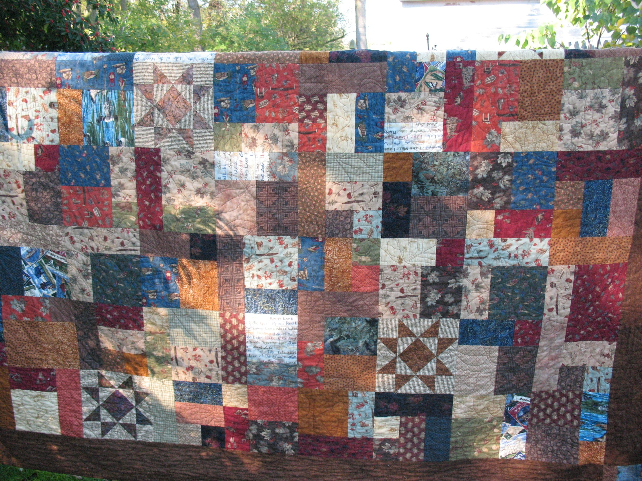 Yellow Brick Road Quilt. Most of this fabric came from the ... : minnesota quilt shop hop - Adamdwight.com